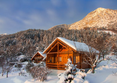 Chalet Carpe Diem in winter